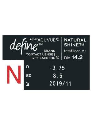 Acuvue Define Natural Shine Degree