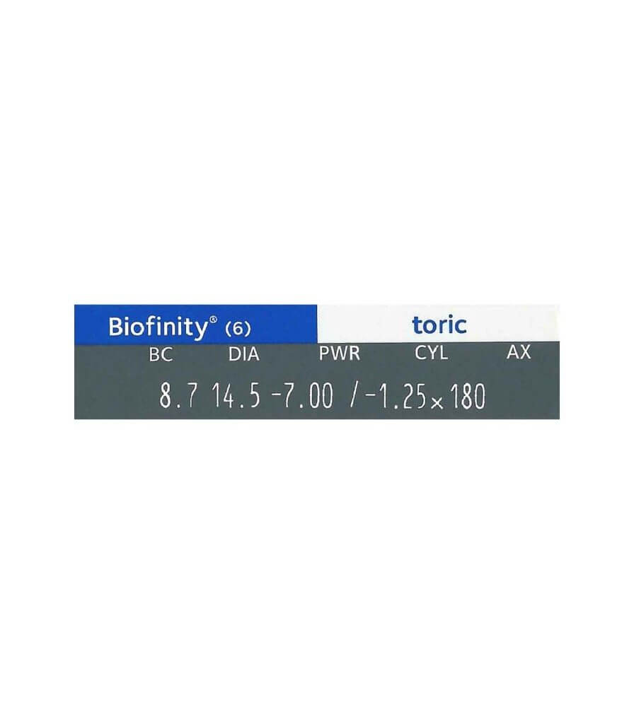 Biofinity-Toric-Degree